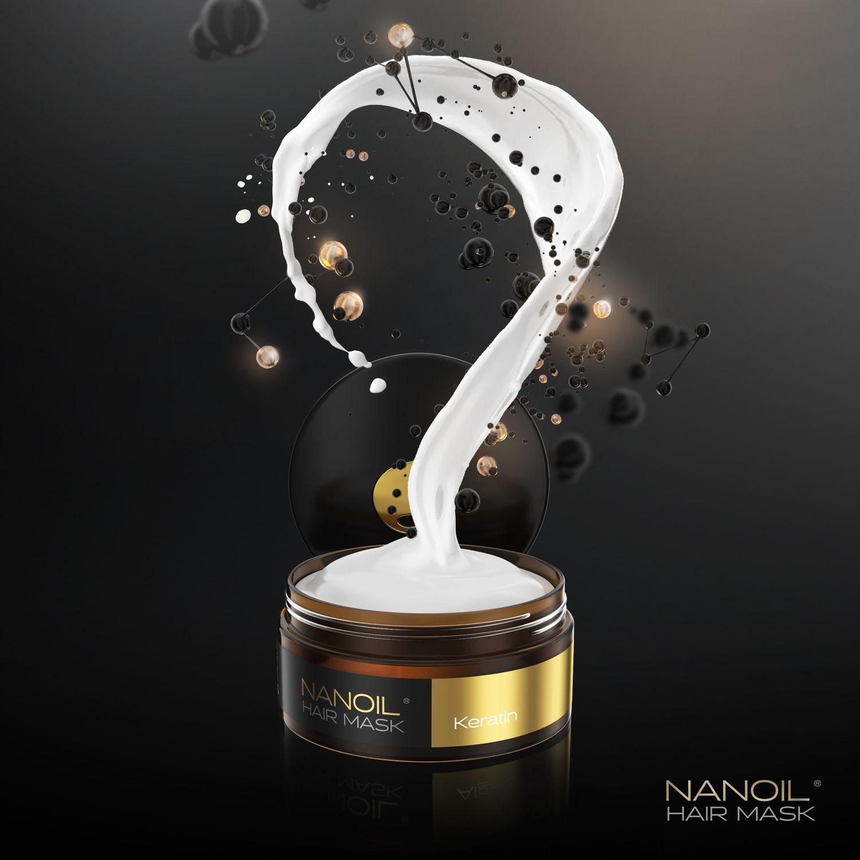 Nanoil keratynowa maska do włosów